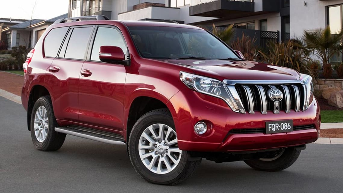 Toyota Land Cruiser Prado 2015 Review Carsguide