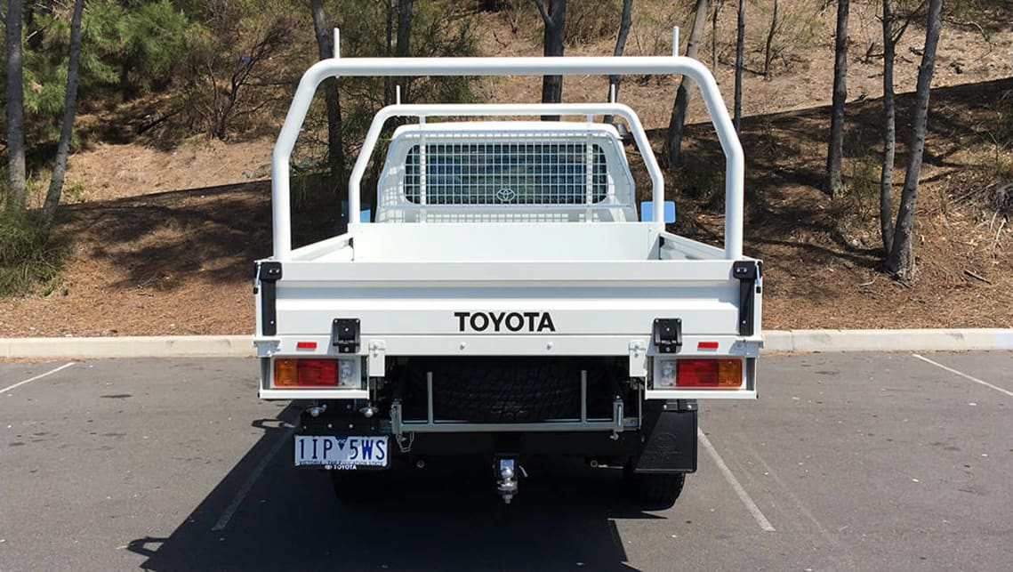 2017 Toyota LC70 LandCruiser GX single cab