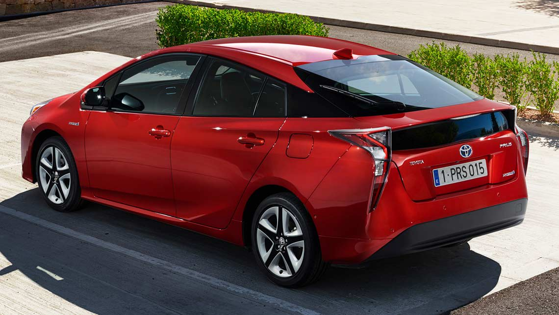 2016 toyota prius revealed car news carsguide. Black Bedroom Furniture Sets. Home Design Ideas