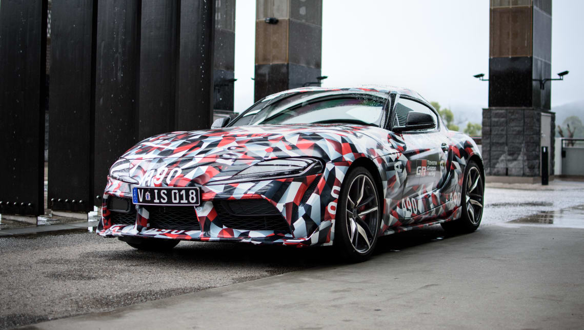 Toyota Supra 2019 Manual Transmission Still On The Cards Car News