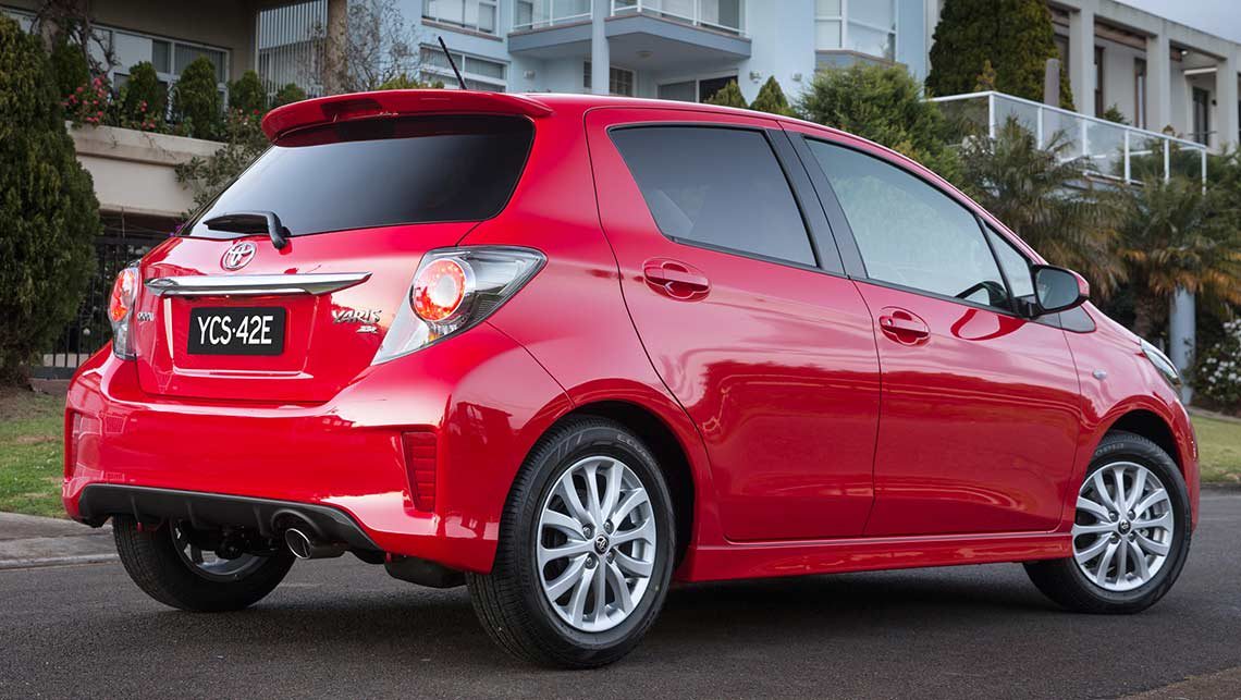 2014 toyota yaris new car sales price car news carsguide. Black Bedroom Furniture Sets. Home Design Ideas