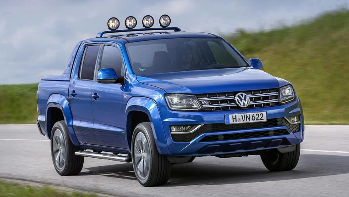 2017 Volkswagen Amarok V6 Is The Torquiest Dual Cab Ute