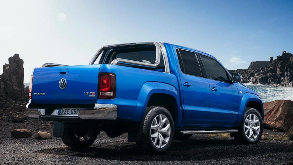 2017 vw amarok v6 review first australian drive carsguide. Black Bedroom Furniture Sets. Home Design Ideas
