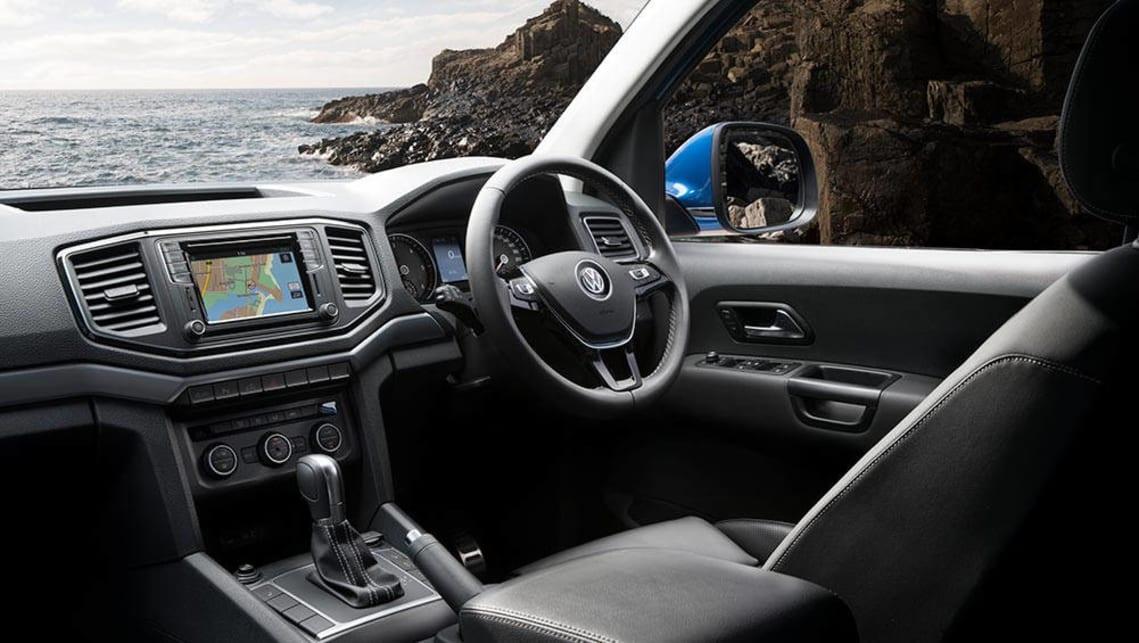 Volkswagen Amarok Tdi550 V6 2017 Review Carsguide