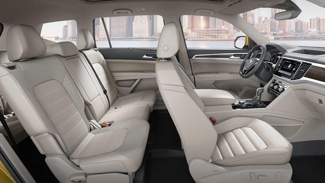 Volkswagen Atlas sevenseat SUV revealed  Car News  CarsGuide