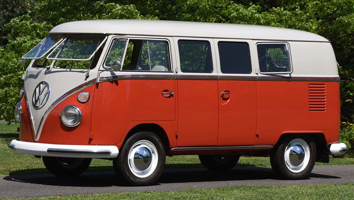 Volkswagen Van At International Car Show
