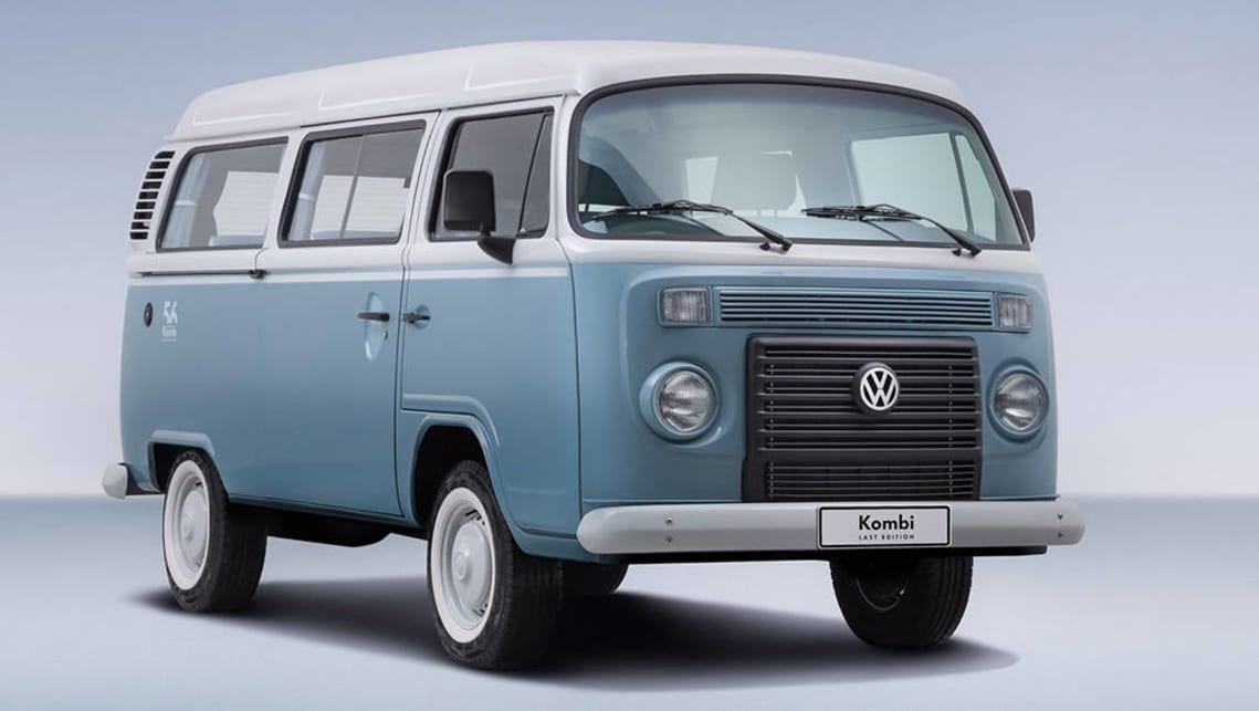 The last ever VW Kombi made in Brazil in 2013 ended 56 years of production.