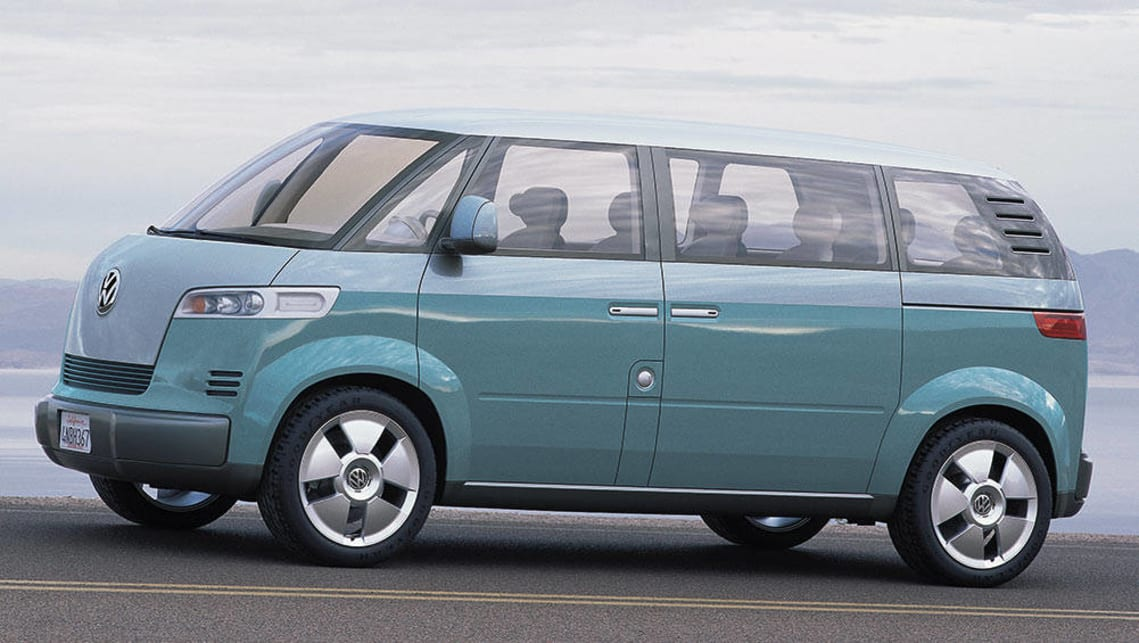 The Volkswagen Microbus Concept from the 2001 Detroit motor show.