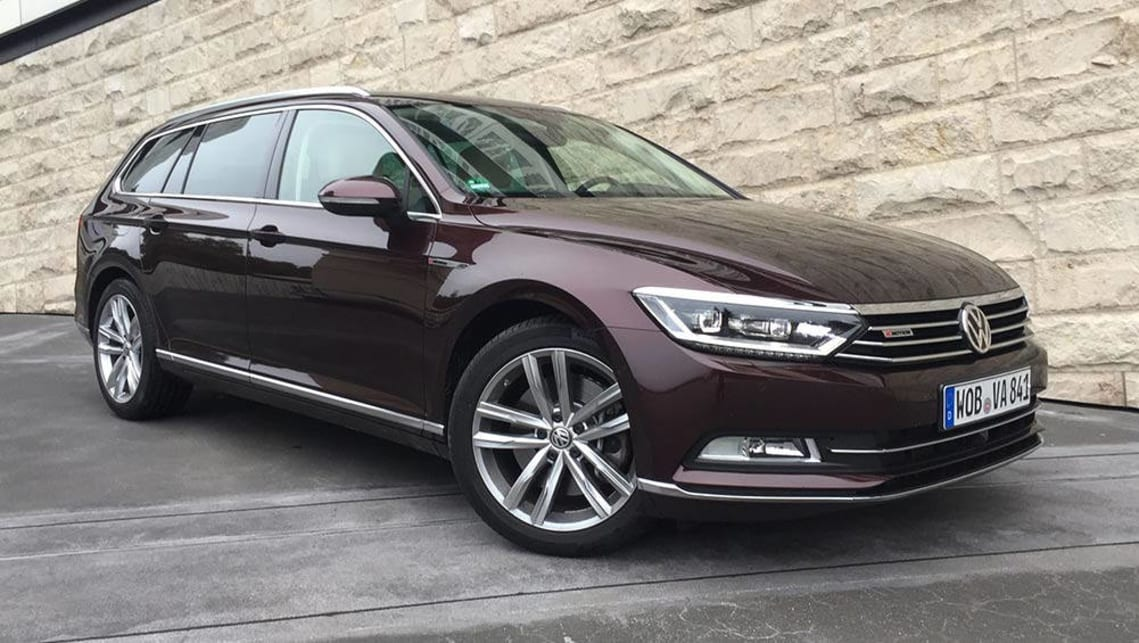 Volkswagen Passat 206 Tsi R Line 2017 Review First Drive