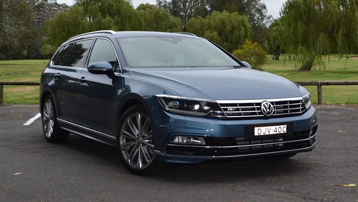 volkswagen passat 206 tsi r line wagon 2017 review carsguide. Black Bedroom Furniture Sets. Home Design Ideas