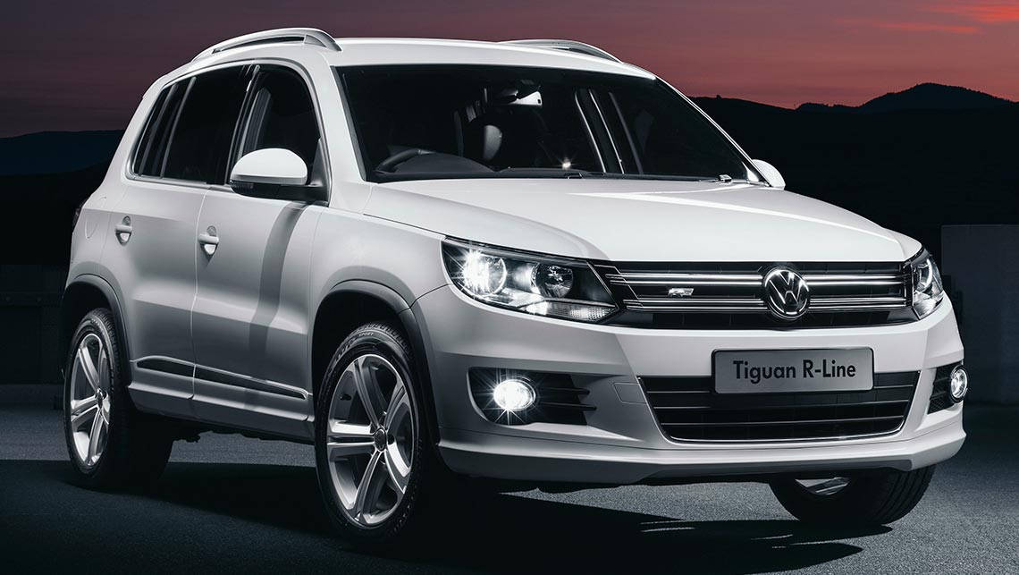 vw adds golf wagon and tiguan r line models car news carsguide. Black Bedroom Furniture Sets. Home Design Ideas
