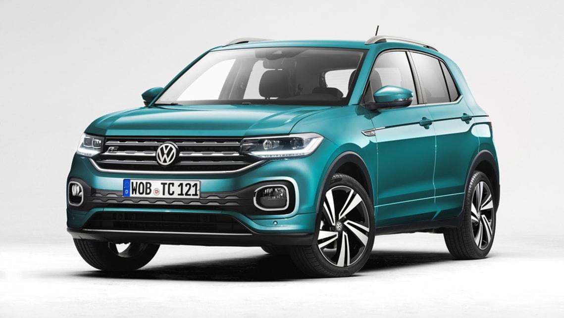 volkswagen t cross set for early 2020 australian arrival car news carsguide. Black Bedroom Furniture Sets. Home Design Ideas