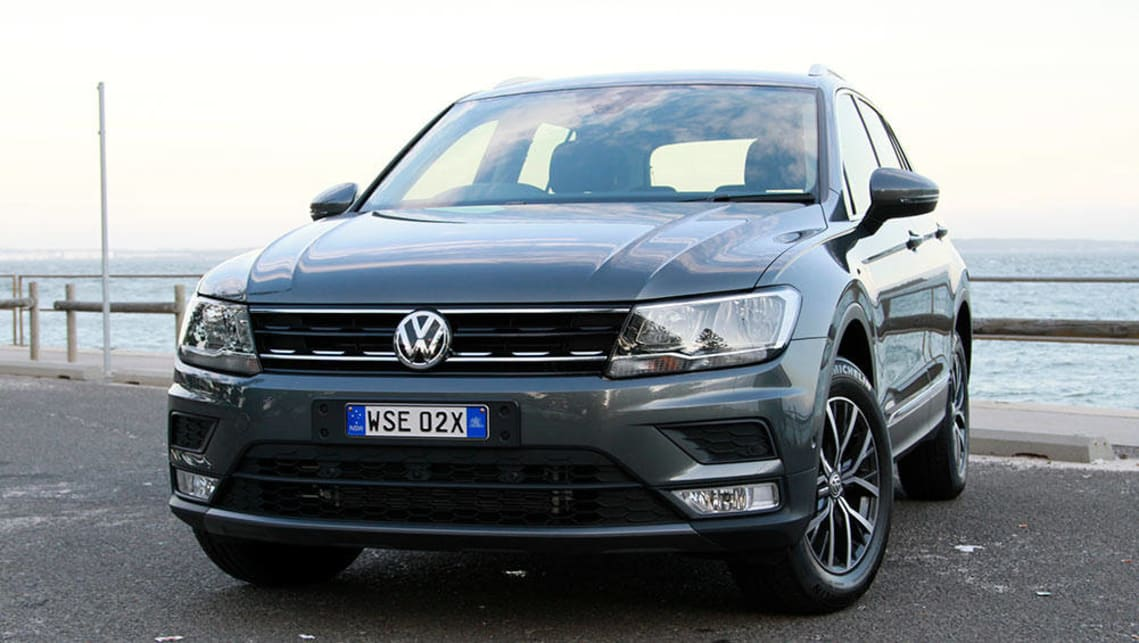 volkswagen tiguan 132tsi comfortline 2017 review road test video carsguide. Black Bedroom Furniture Sets. Home Design Ideas