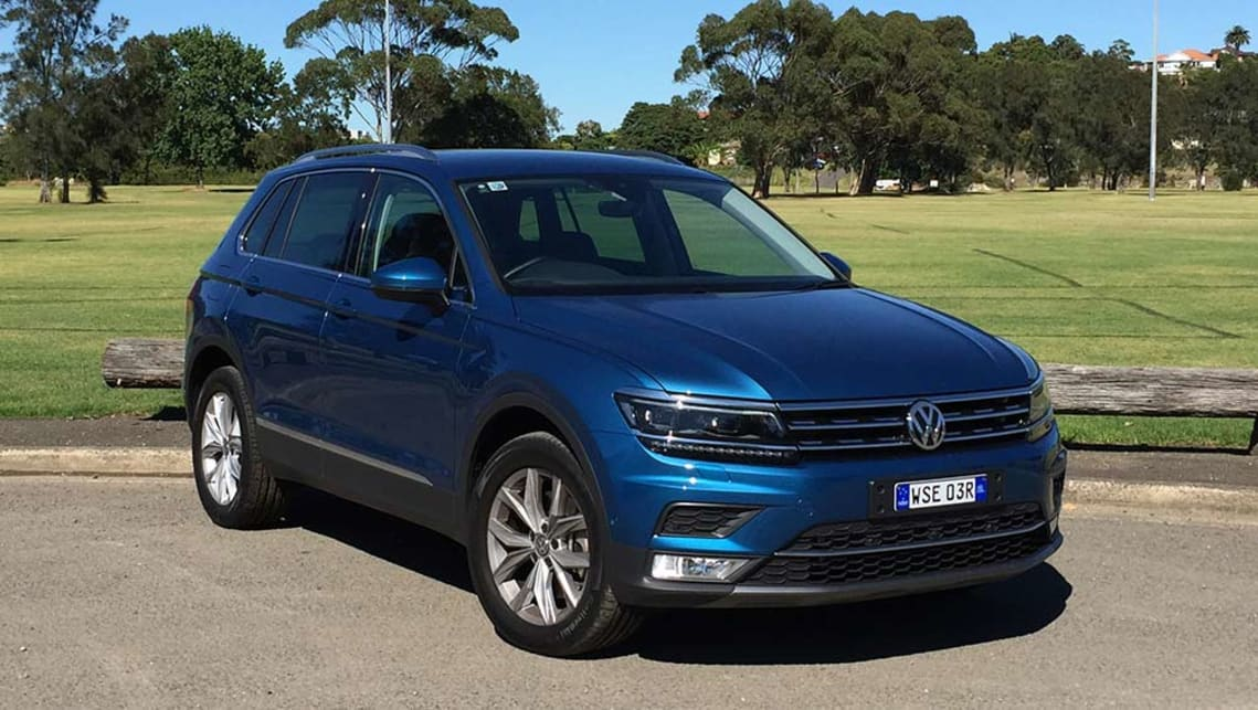 volkswagen tiguan 140tdi highline 2017 review road test carsguide. Black Bedroom Furniture Sets. Home Design Ideas