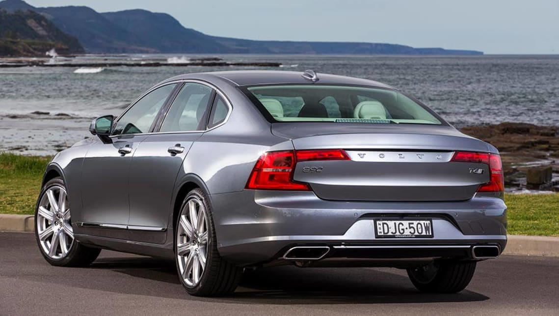 volvo s90 2016 review first australian drive carsguide. Black Bedroom Furniture Sets. Home Design Ideas