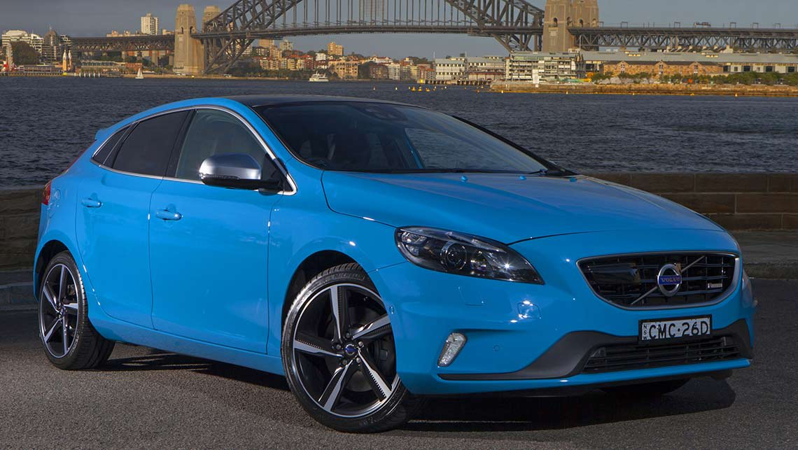 volvo v40 t5 r design 2014 review carsguide. Black Bedroom Furniture Sets. Home Design Ideas