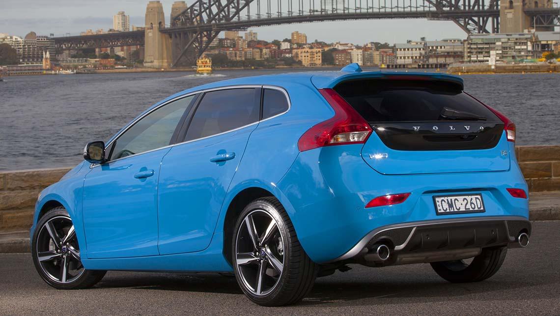 volvo v40 t5 r design review 2014 carsguide