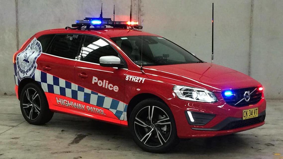 NSW Police add Volvo XC60 SUV to fleet - Car News | CarsGuide