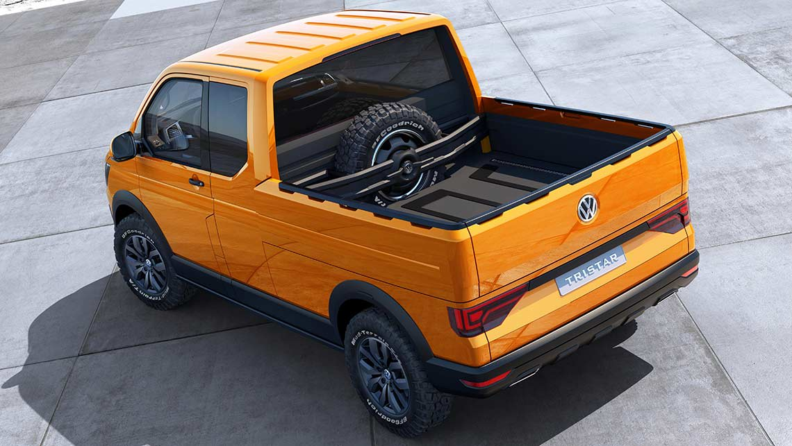 Vw Previews Future Transporter Van With Tristar Concept