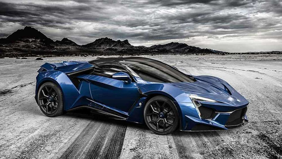 Delightful #5 W Motors Fenyr SuperSport (AU$2.4 Million)