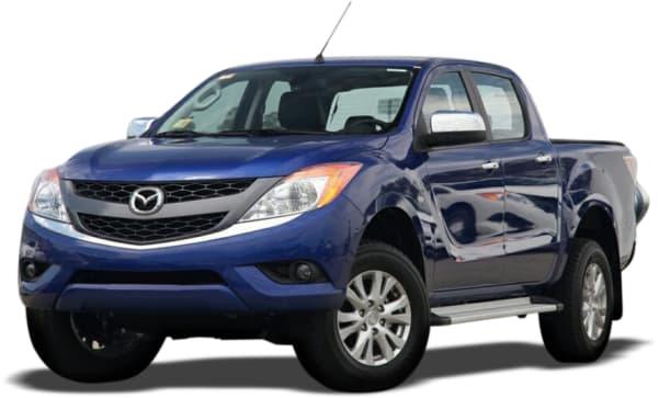 Mazda bt 50 weight
