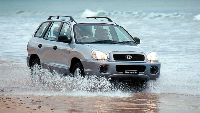 Used Hyundai Santa Fe Review: 2000 2015