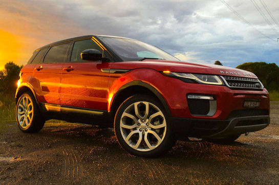 land rover range rover evoque reviews carsguide. Black Bedroom Furniture Sets. Home Design Ideas