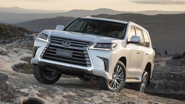 Lexus LX450d 2018 Pricing And Spec Confirmed