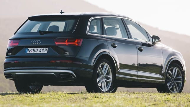 2015 audi q7 review tdi 200 first local drive carsguide. Black Bedroom Furniture Sets. Home Design Ideas