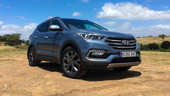 Hyundai Santa Fe 30 Special Edition V6 2017 review | road test