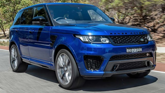 Land Rover Range Rover Sport Svr 2016 Review Carsguide