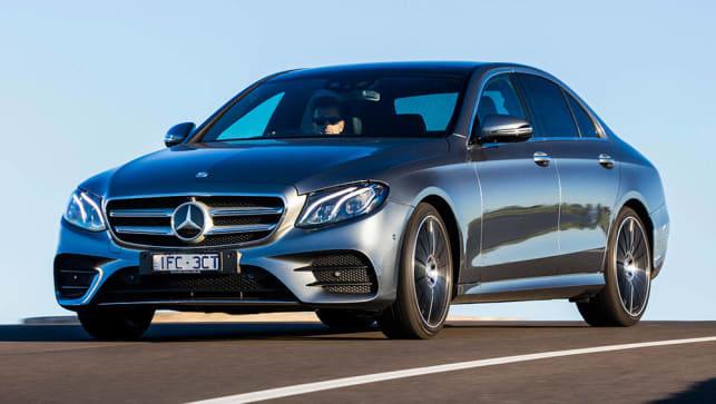 Mercedes benz e class e220d 2016 review carsguide for Mercedes benz b1 service cost e350