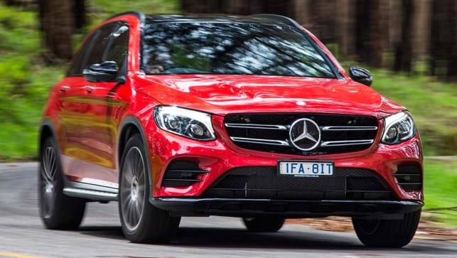 2016 mercedes benz glc 250 and 220d review road test carsguide. Black Bedroom Furniture Sets. Home Design Ideas