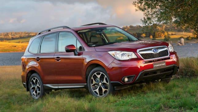 subaru forester reviews carsguide
