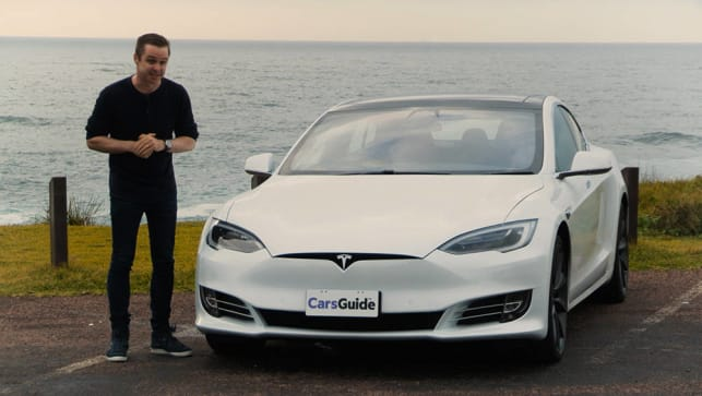 Tesla Car Reviews CarsGuide - A tesla car