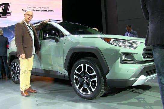 2019 Toyota Rav4 Reviews Carsguide