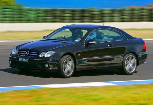 Mercedes-Benz CLK63 AMG test drive | CarsGuide