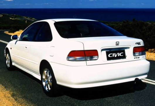 honda civic coupe 1999 обзор