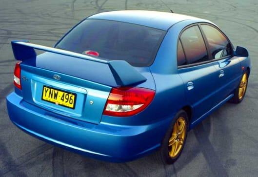Kia Rio Sport Pac Sedan on 2001 Hyundai Wagon