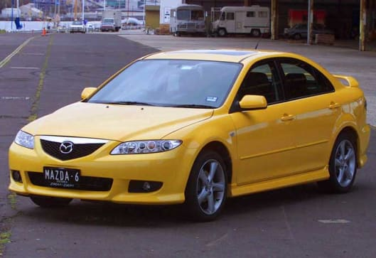 used car review mazda 6 2002 2004 carsguide. Black Bedroom Furniture Sets. Home Design Ideas