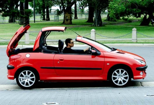 used car review peugeot 206cc 2001 2004 carsguide. Black Bedroom Furniture Sets. Home Design Ideas