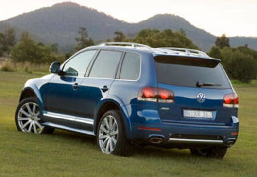 VW Touareg 2008 Review