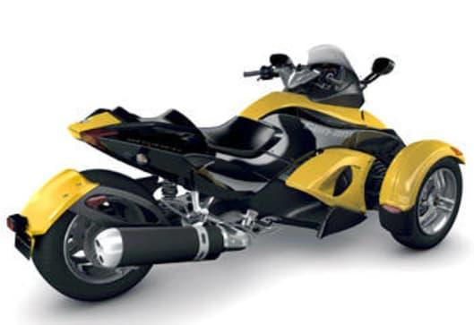 spyder 3 wheeler 2008 review carsguide. Black Bedroom Furniture Sets. Home Design Ideas