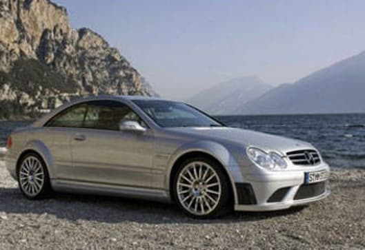 Clk 63 amg great for the track car news carsguide for Who owns mercedes benz now