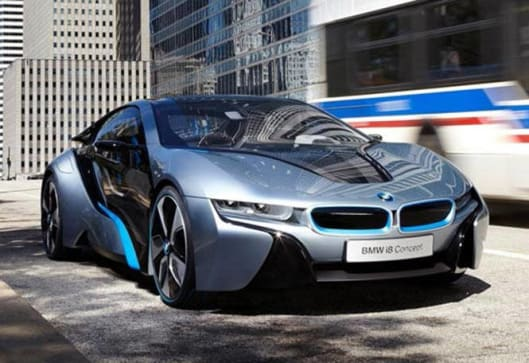 2015 BMW I8 Hybrid Sports Car Details Revealed
