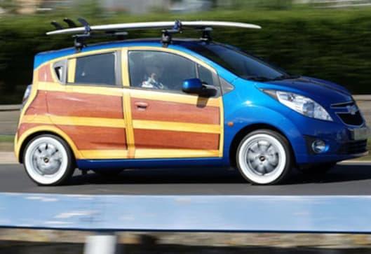 Holden Spark Knocks On Woody Car News Carsguide