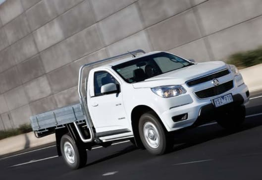 Holden Colorado 2012 Review Carsguide