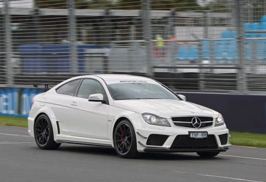 mercedes benz c63 amg black series review carsguide. Black Bedroom Furniture Sets. Home Design Ideas