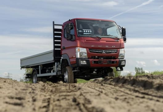 Mitsubishi Fuso Canter 4x4 dual-range returns - Car News | CarsGuide
