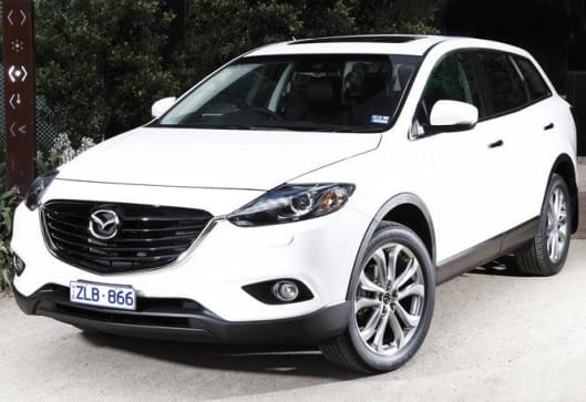 Captivating Mazda CX 9 Luxury 2013 Review